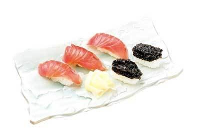 島寿司のシャリはほのかに甘い…/ゆうき丸