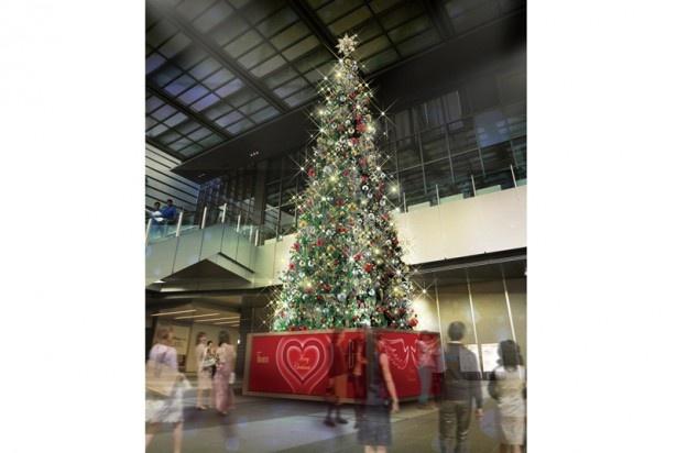 名古屋最大級のクリスマスツリーがお目見え!