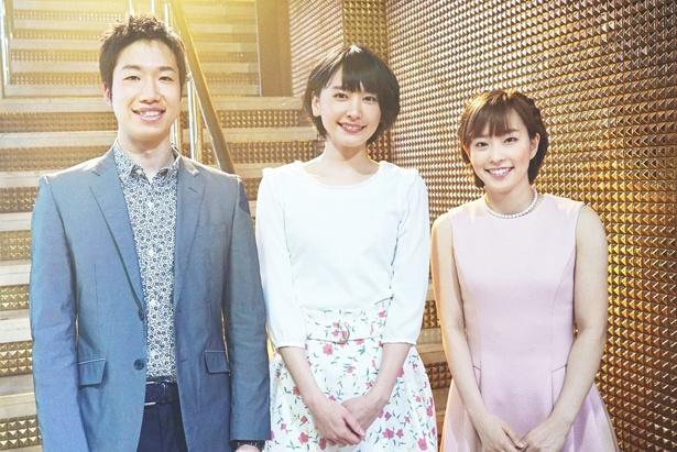 【写真を見る】本人役で映画初出演を果たした水谷隼と石川佳純