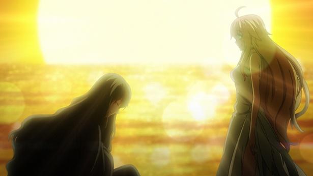 「Dies irae」第2話の場面カットが到着。第三帝国の魔人たちが蓮につきまとう!