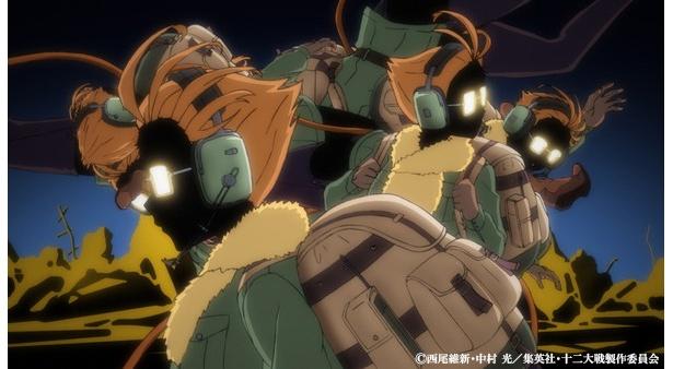 「十二大戦」第4話の先行カットが到着 。申の戦士・砂粒が人間を救い続ける理由とは