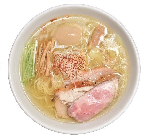 【写真を見る】「香彩鶏だし特製塩らーめん」(990円)