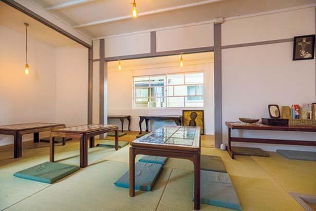 2階の座敷席/JEREMY&JEMIMAH.古川町商店街