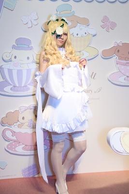「ローゼンメイデン」の雪華綺晶に扮する雛さん