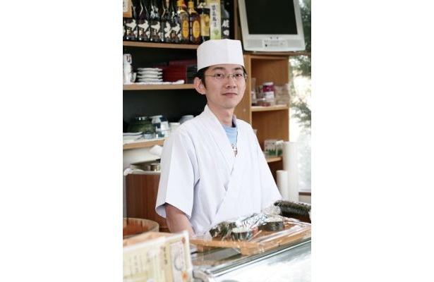 寿司職人のご主人