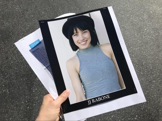 ジェシカの宣材写真