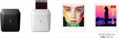 【写真を見る】「SP-3」の専用アプリでは、写真に様々な加工をして印刷が出来る。
