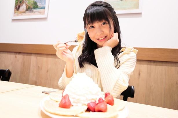 「パンケーキっ♪」
