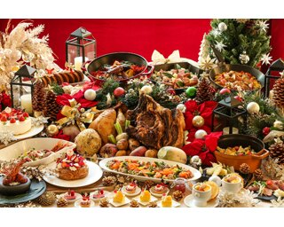 ヨーロッパの食事が集結!「ジョイフル クリスマス ブッフェ」が開催