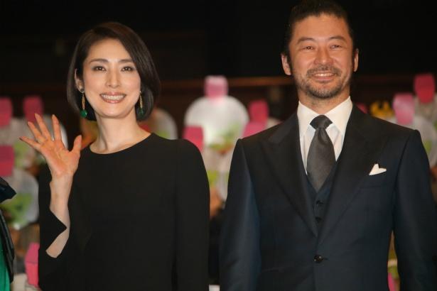 天海祐希と浅野忠信がイベントに登壇