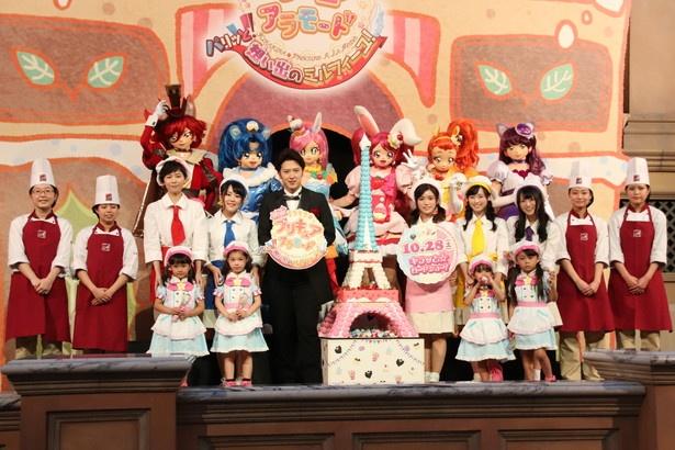 「映画キラキラ☆プリキュアアラモード パリッと!想い出のミルフィーユ!」の公開直前イベントが行われた