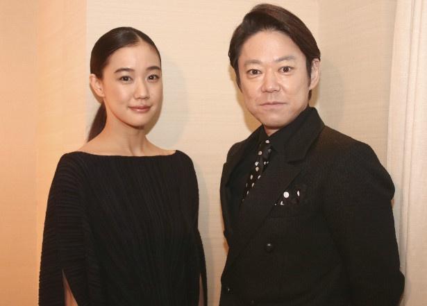 『彼女がその名を知らない鳥たち』で共演した蒼井優と阿部サダヲ