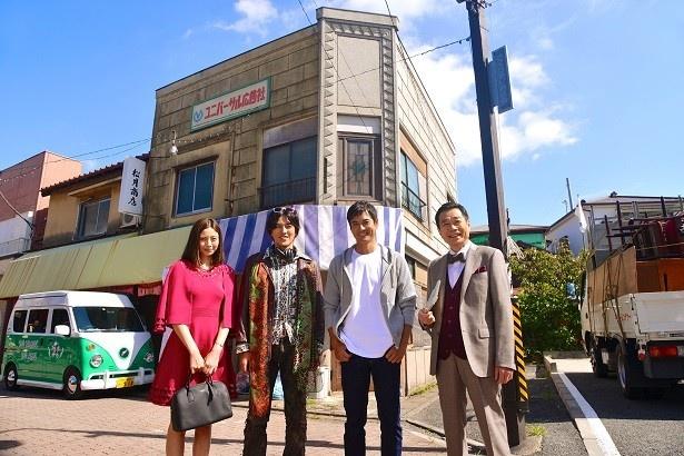 【写真を見る】「ユニバーサル広告社ー」では、「ひよっこ」で共演した和久井映見、三宅裕司らと再共演!