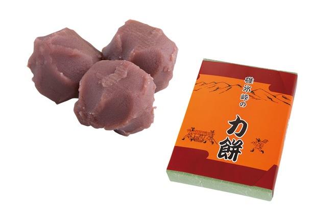ひと口サイズで食べやすい「碓氷峠の力餅」(756円、16個入り)