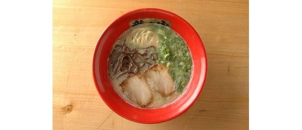 「龍の家」とんこつ純味¥600