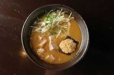 「博多 元助」のつけ麺(汁)¥850