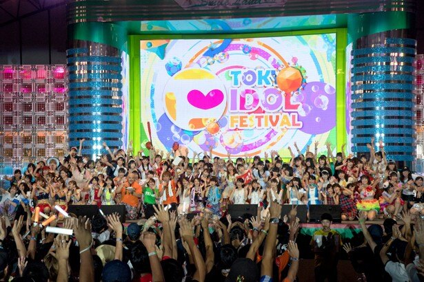 「TOKYO IDOL FESTIVAL2017」は3日間で全223組1480人のアイドルが出演