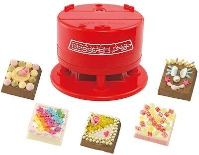 かわいいデコチョコを気軽に楽しめる「DECOチョコメーカー」。891円と値段も手軽だ
