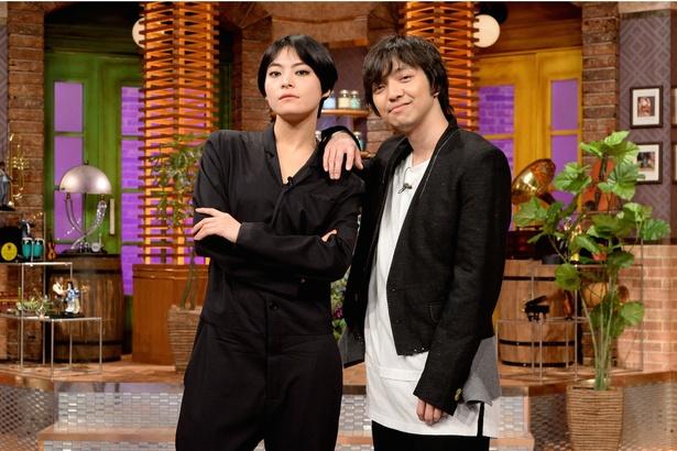 三浦大知(写真右)、菅原小春(同左)