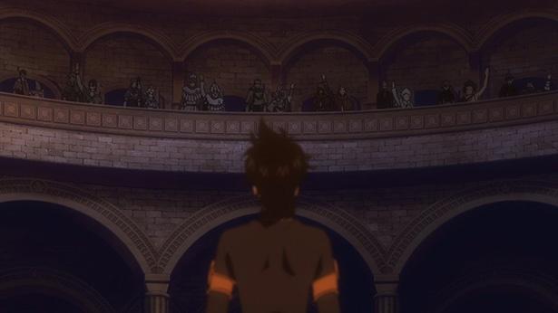 「ブラッククローバー」第5話の先行カットが到着。アスタ、魔法騎士団に入れるか!?