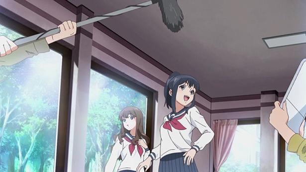 「Wake Up, Girls! 新章」第4話の先行カットが到着。真夢と岩崎志保がドラマでW主演!?