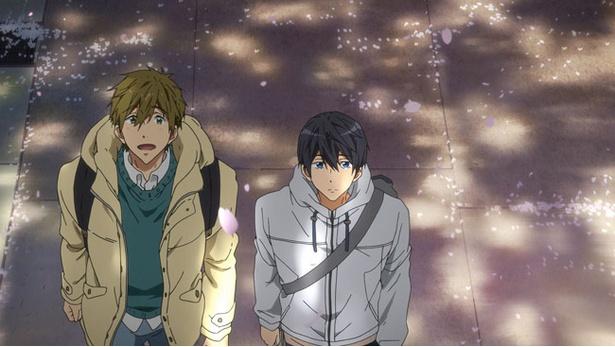 水泳に青春をかける男子高校生たちを描いた人気テレビアニメのその後を描く『特別版 Free!-Take Your Marks-』