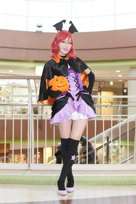 「ラブライブ!」の西木野真姫に扮した紺野キリオさん