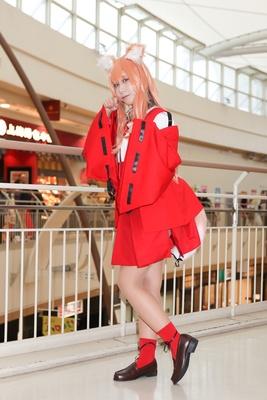 「Fate/Grand Order」の鈴鹿御前に扮した冥瓜さん