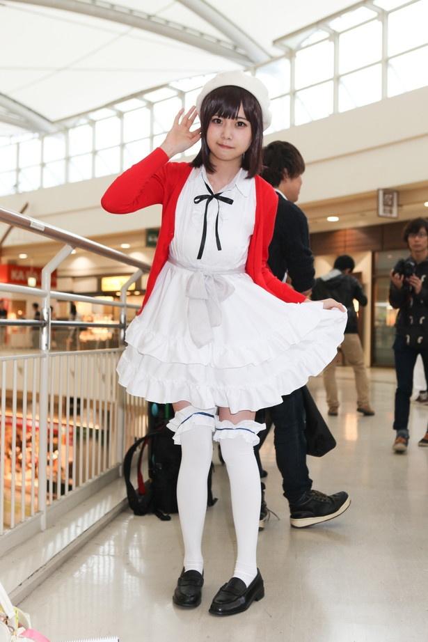 「冴えない彼女の育てかた」の加藤恵に扮した姫綺みみこさん
