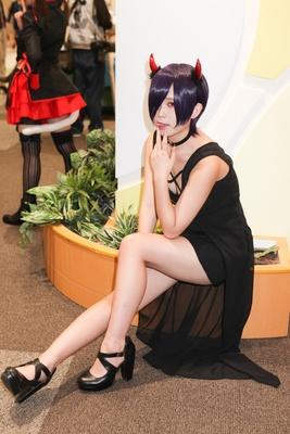 「東京喰種」の霧嶋董香に扮するれいきっくさん