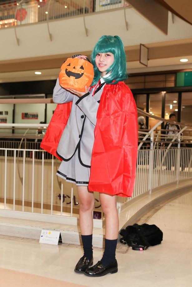 「暗殺教室」の茅野カエデに扮した姫梨さん
