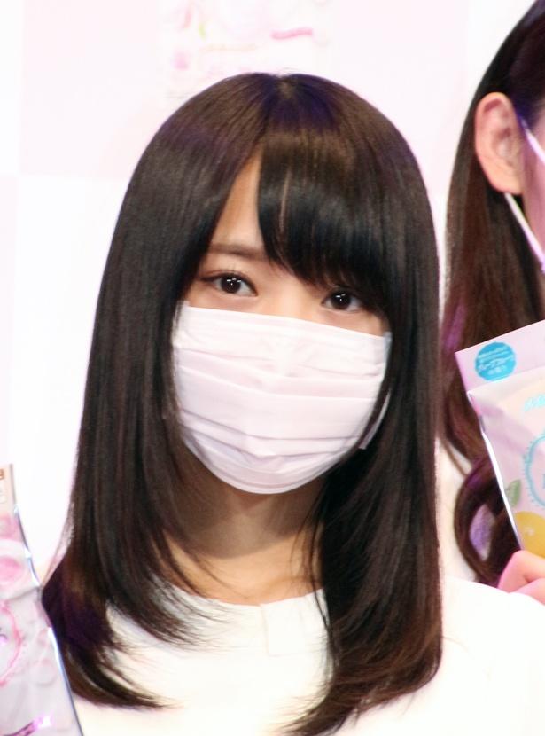 【写真を見る】菅井友香は「PRを頑張りマスク!」と宣言