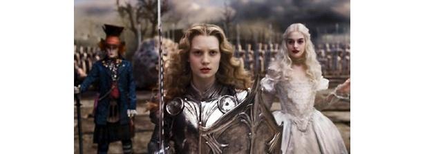 従来のイメージを覆す、強くて美しいアリスが登場