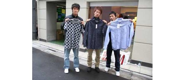 友達に頼まれたのも含めて10万近く買ったという神奈川から来たグループ