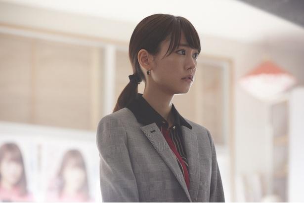 撮影現場の桐谷美玲に密着!