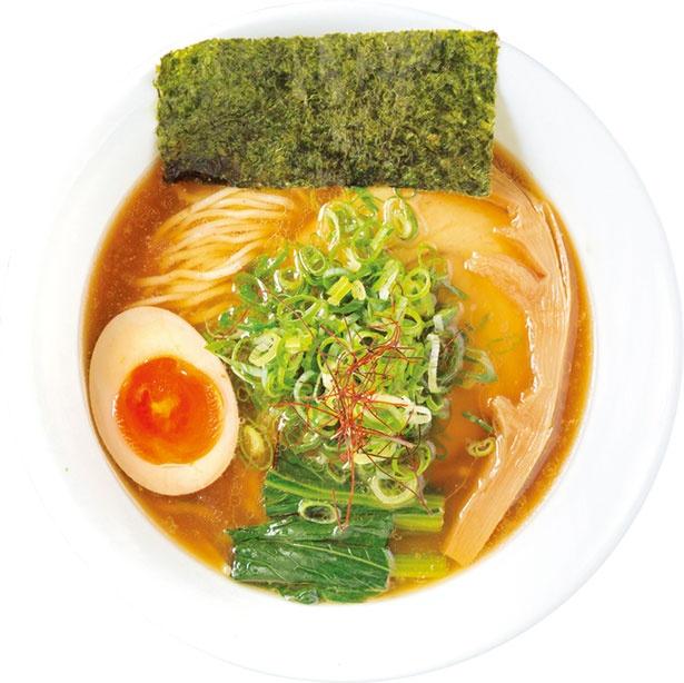 「鰹武士醤油麺」(700円)/大津 天下ご麺