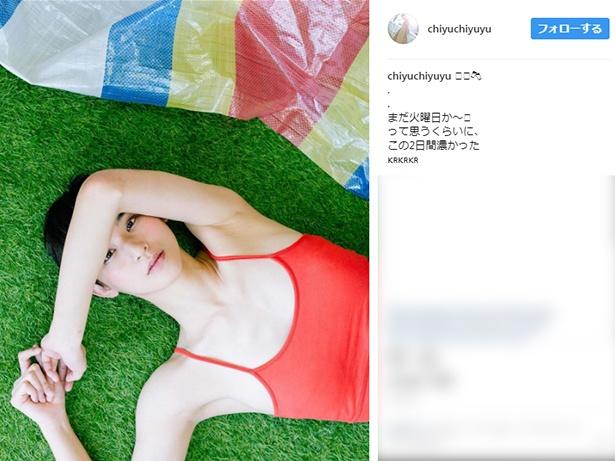 【写真】スレンダーボディが魅力!9頭身美女の金澤ちゆき