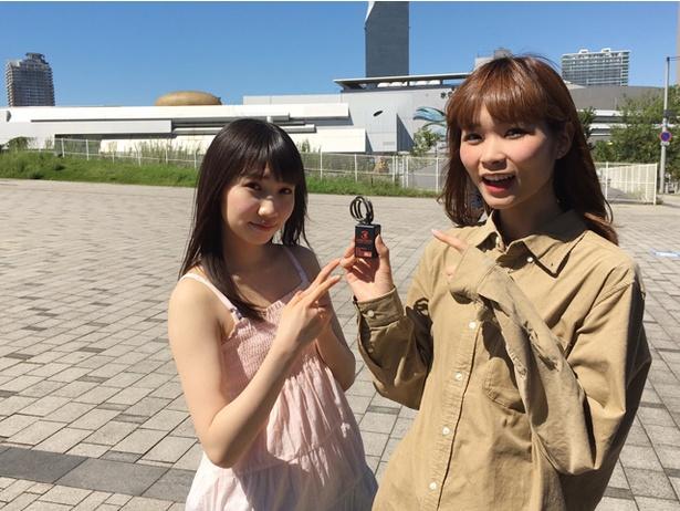 FES☆TIVE・ひよちゃん(桃原ひよ)、ひなりん(青葉ひなり)がオービトロンのWEB CMに出演。11月2日に公開され、2人が撮影を振り返ってくれた
