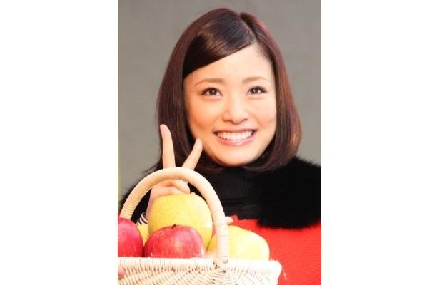 上戸さんのお気に入りのりんごは「スーパーやコンビニで買えるふじりんご」