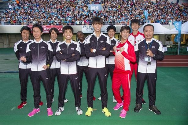 「陸王」竹内涼真らのマラソン大会シーンの撮影現場に潜入!