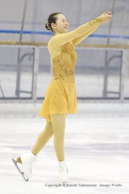 大庭雅にとって、スケート人生を大きく変えることになった、特別なプログラムだ。演技後、笑みがこぼれる