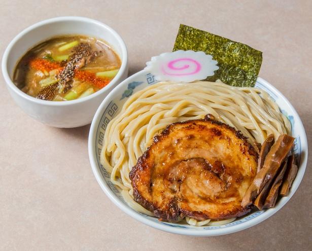 「福島鶏白湯のつけそば」/麺処 若武者 弐號店 みどり湯食堂