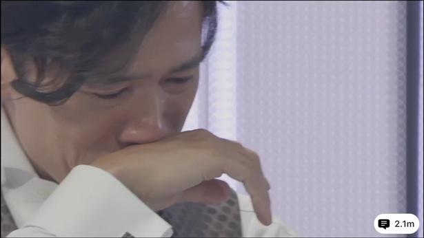 多くの出演者、視聴者からのメッセージを見て稲垣吾郎は号泣