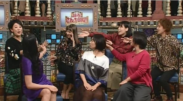 お互いにツッコみ合う関西女たち