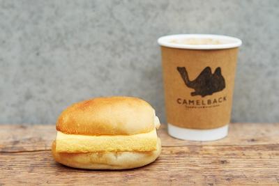 元寿司職人が手がける絶品サンドに舌鼓!なかでも人気は「玉子サンド」(410円)/CAMELBACK sandwich & espresso