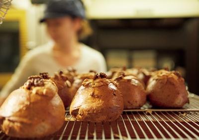 焼きたてをいつでも目の前で!素材の香りも存分に楽しもう/tecona bagel works