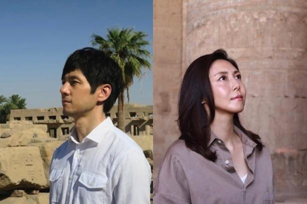 スーパープレミアム「古代エジプト 3人の女王のミステリー」に、松嶋菜々子と西島秀俊が出演する