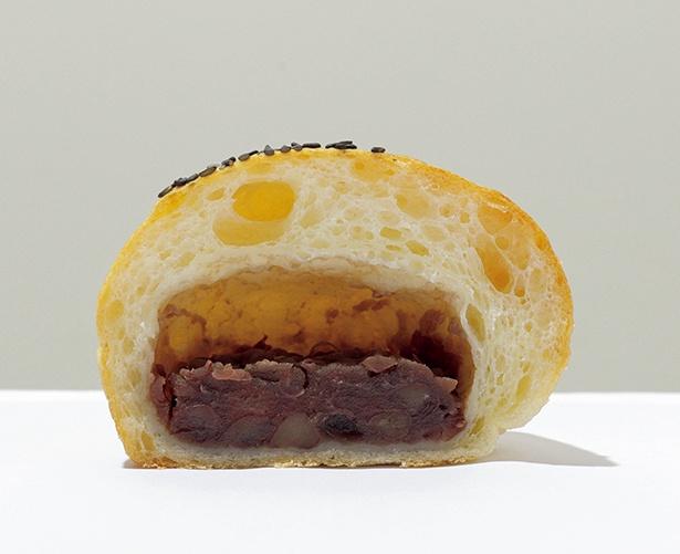 十勝サンチノつぶあんぱん」(172円)