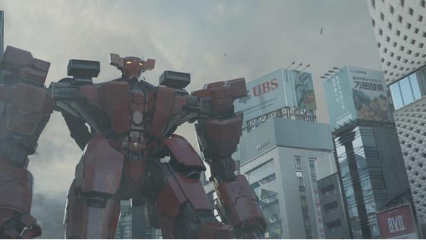 宇宙人の侵略から地球を守るために作られた巨大ロボット、レッドバロン