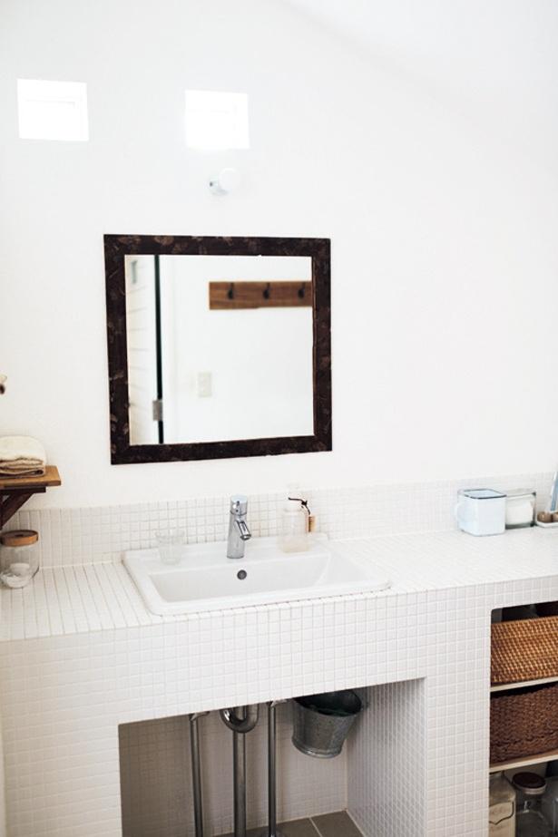 うちの洗面所は無理!と決めつけず、まずは写真を撮って空間を冷静に探してみよう